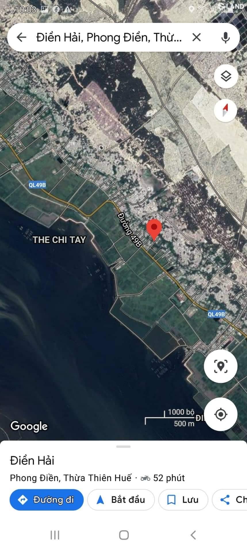 Đất nền 266.5m² Thôn 1, Điền Hải, Phong Điền. Huế.
