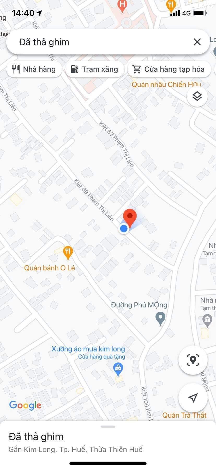 Bán đất kiệt 69 Phạm Thị Liên, đường ô tô vi vu